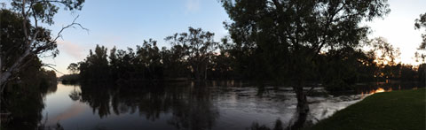 River Murray at Sunrise, Swan Hill