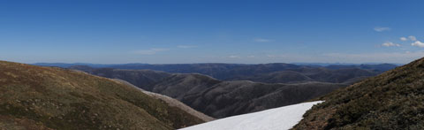 Snowfield at Mount Hotham Summit